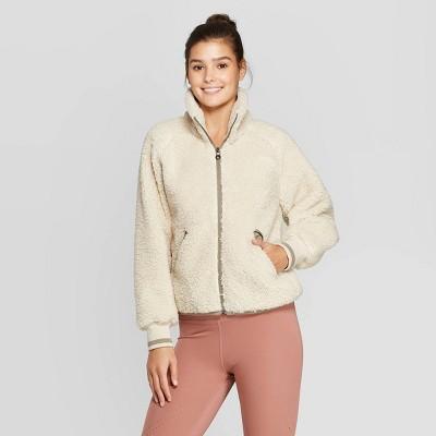 Women's Sherpa Full Zip Jacket   Joy Lab™ by Joy Lab