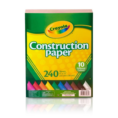 "Crayola® Construction Paper 9"" x 12"" 240ct - image 1 of 3"