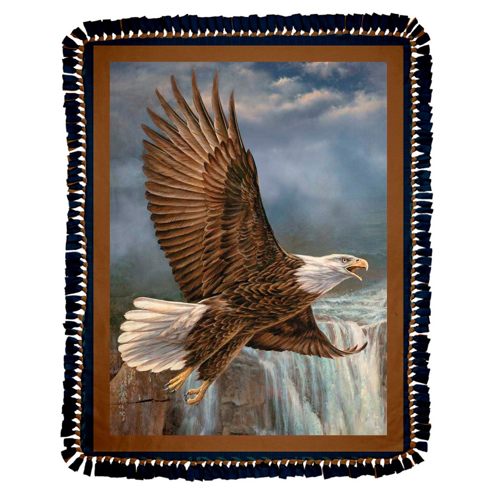 Wild Wings Wings Of Glory Fleece Throw Kit, Multi-Colored
