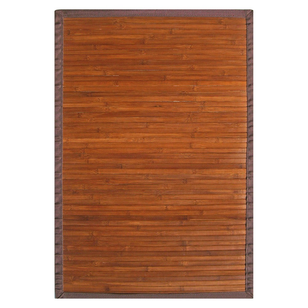 Solid Bamboo Area Rug - Chocolate (Brown) (5'x8')