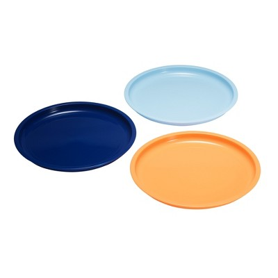 The First Years 3pk Plate Pack - Blue