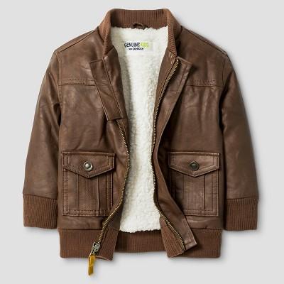 Baby Boys' Bomber Jacket - Brown Patina 18 M - Genuine Kids™ from OshKosh®