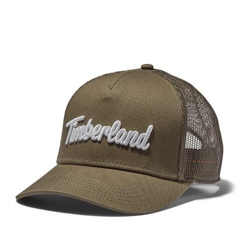 Timberland Men's 3D-Logo Trucker Hat - image 1 of 2