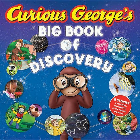 Curious George's Big Book of Discovery - by  H A Rey (Hardcover) - image 1 of 1