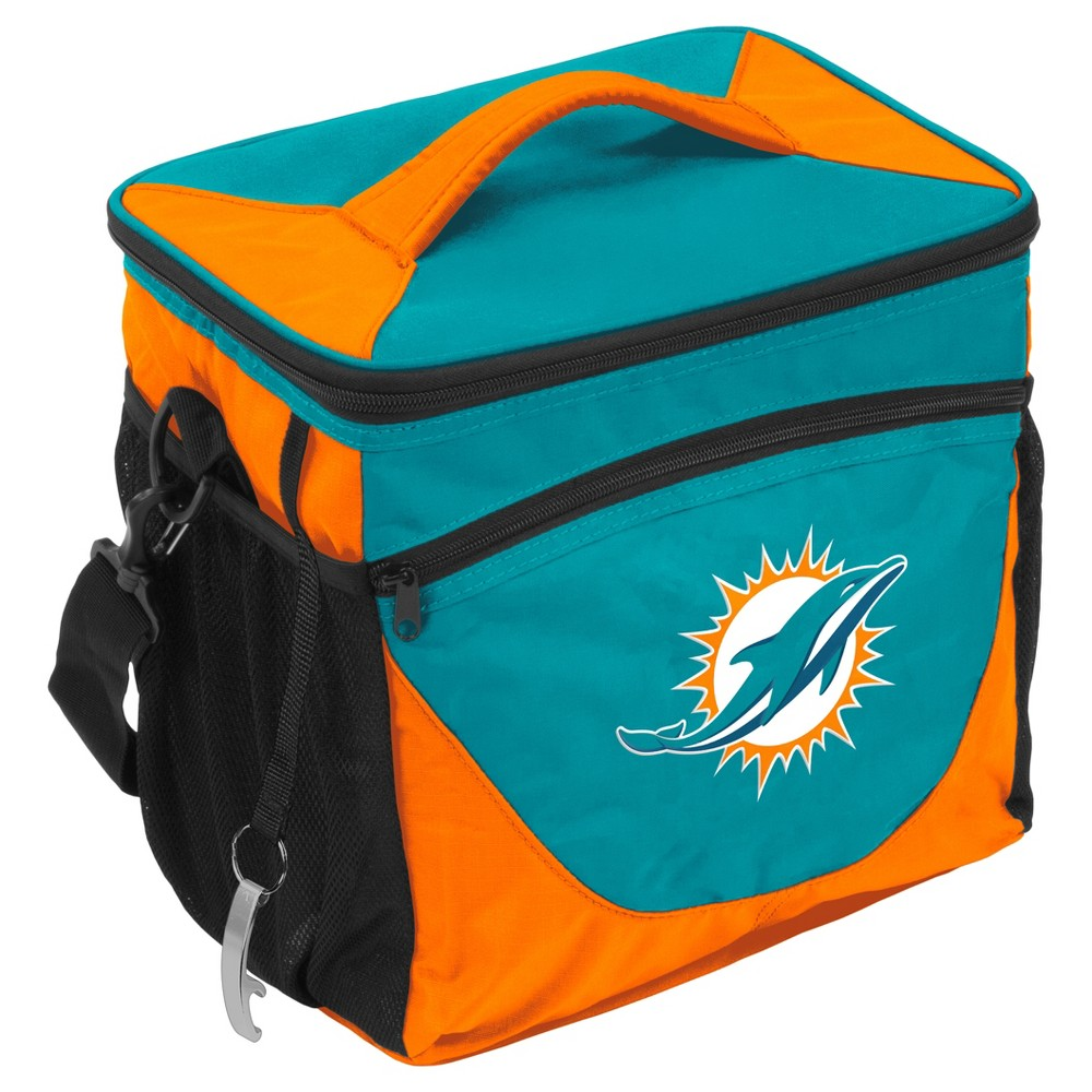 NFL Miami Dolphins 24-Can Soft Side Cooler