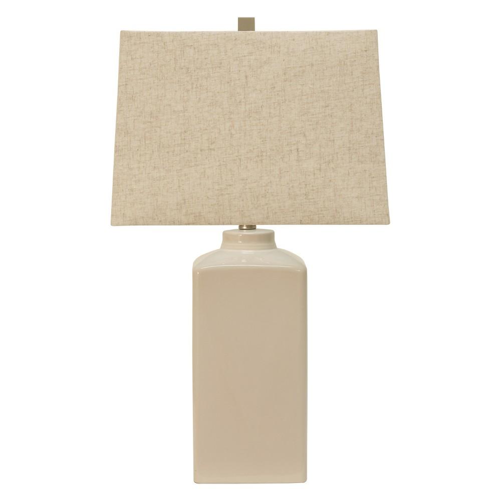 26 5 34 Kennedy Ceramic Desk Lamp White Decor Therapy