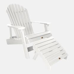 Hamilton 2pk Folding & Reclining Adirondack Chairs With 1
