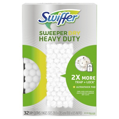Swiffer Sweeper Heavy Duty Multi Surface Sweeper Cloth - 32ct