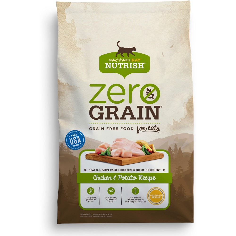 Rachael Ray Nutrish Zero Grain Natural Chicken & Potato Dry Cat Food - 6lbs