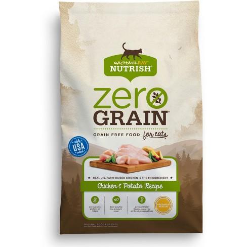 Rachael Ray Nutrish Zero Grain Natural Chicken Potato Dry Cat