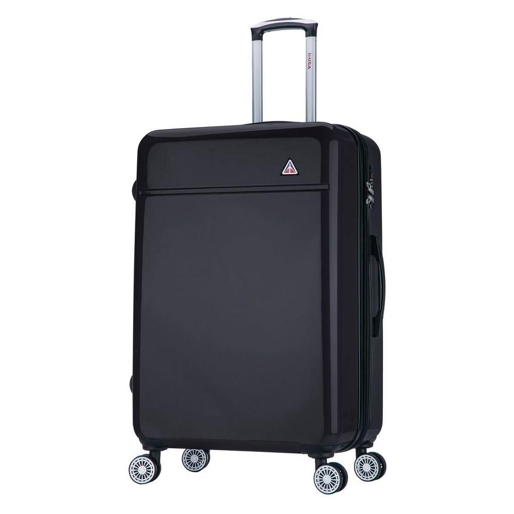 "Image of ""InUSA 28"""" Avila Hardside Spinner Suitcase - Black"""