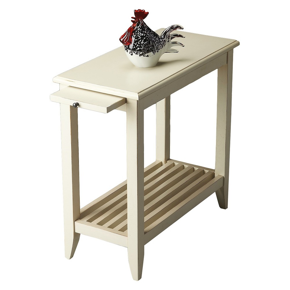 Irvine Cottage End Table White- Butler Specialty, White