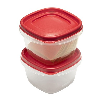Rubbermaid 4pc 2 Cup Food Storage Container with Easy Find Lid