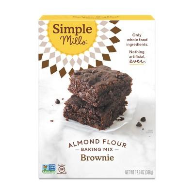 Simple Mills Gluten Free Brownie Almond Flour Baking Mix - 12.9oz