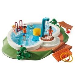Playmobil Swimming Pool, mini figures