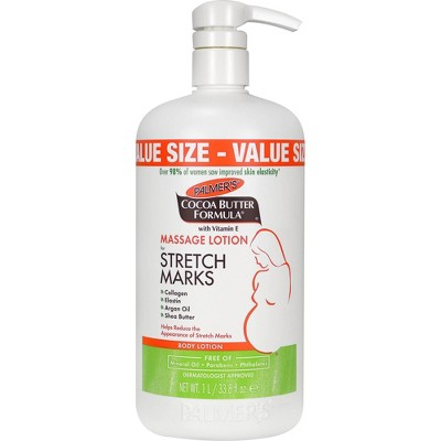 Palmers Cocoa Butter Formula Massage Lotion for Stretch Marks - 33.8oz