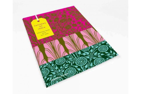 Patterns of India : 10 Sheets of Wrapping Paper With 12 Gift Tags (Accessory) (Henry Wilson) - image 1 of 1