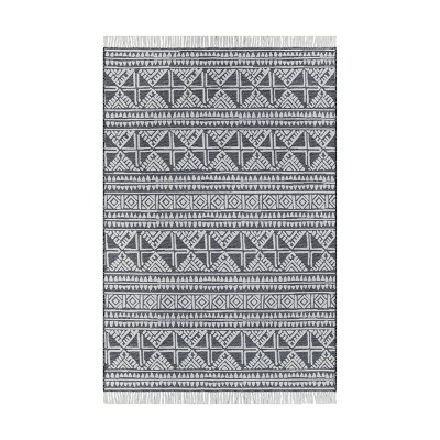 Outdoor Rug Tasseled Charcoal - Project 62™