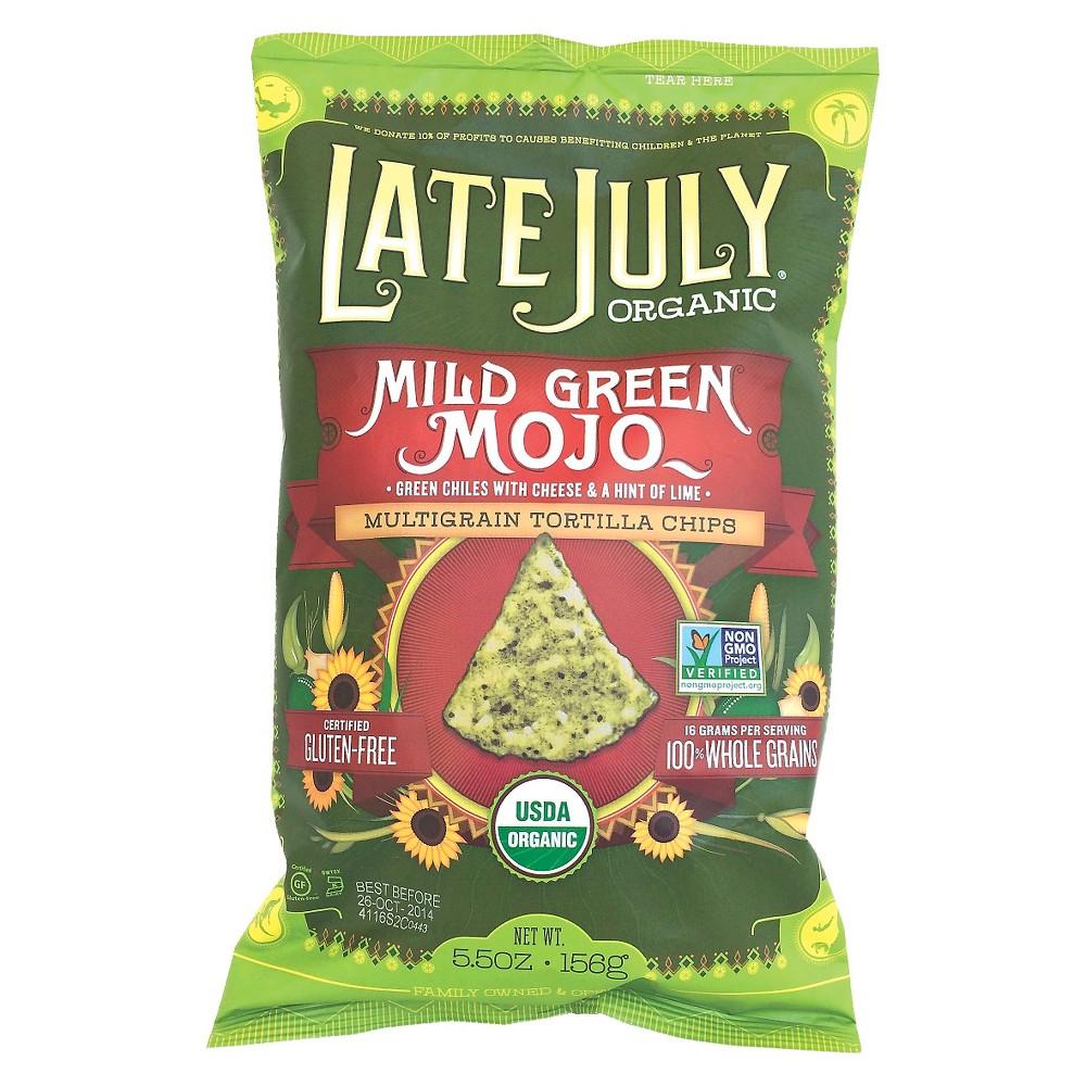 Late July Chip Mild Green Mojo 5.5oz