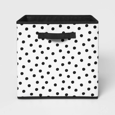 "13"" Fabric Dot Storage Bin - Pillowfort™"