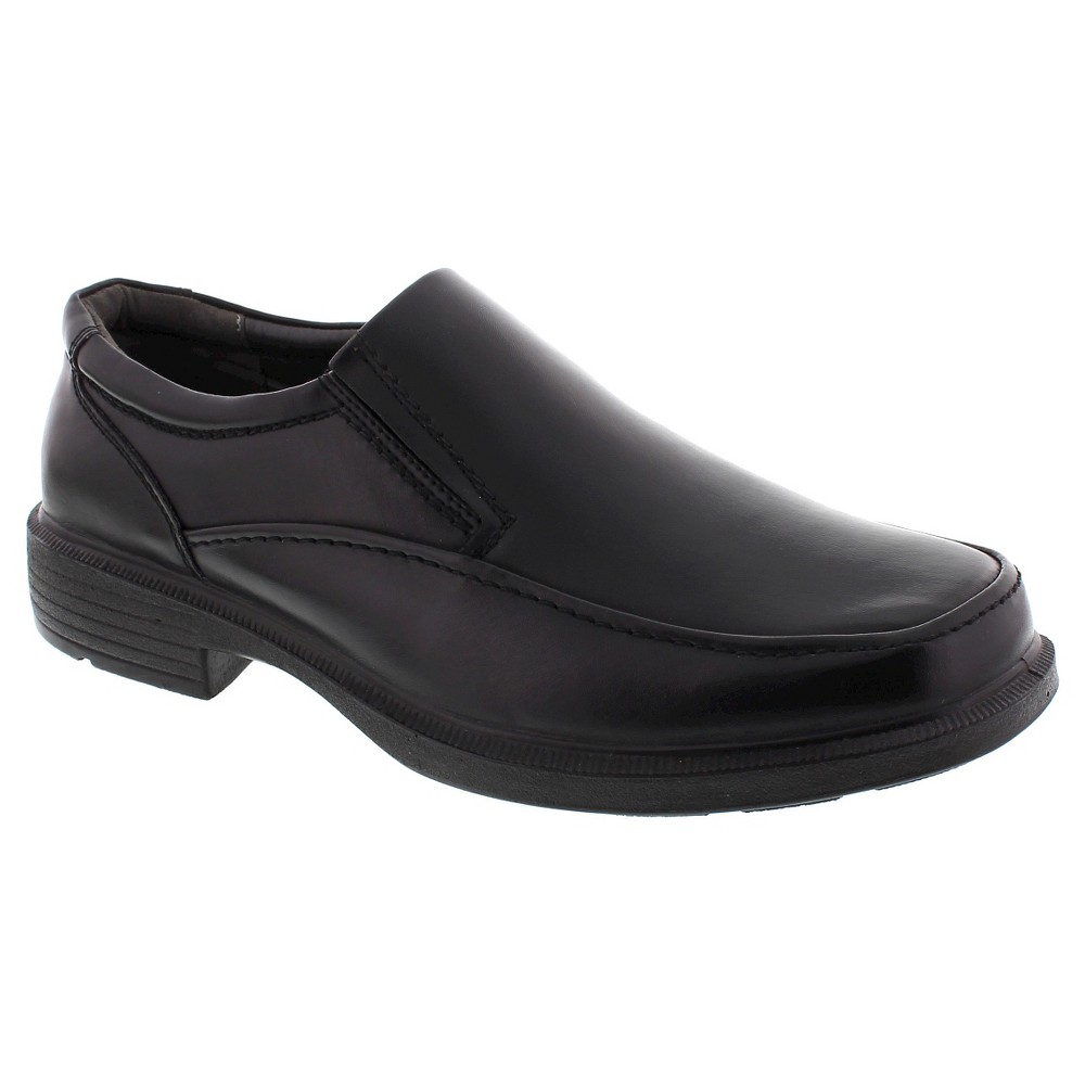 Men's Deer Stags Wide Width Brooklyn Loafers - Black 15W, Size: 15 Wide