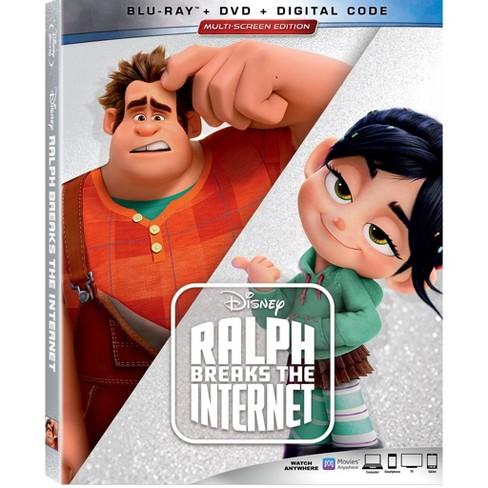 Ralph Breaks the Internet (Blu Ray + DVD + Digital) - image 1 of 2