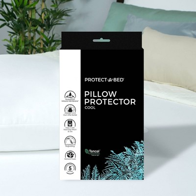Cooling Pillow Protector - Protect-A-Bed