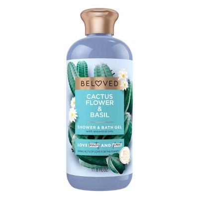 Beloved Cactus Flower and Basil Shower and Bath Gel Body Wash - 12 fl oz