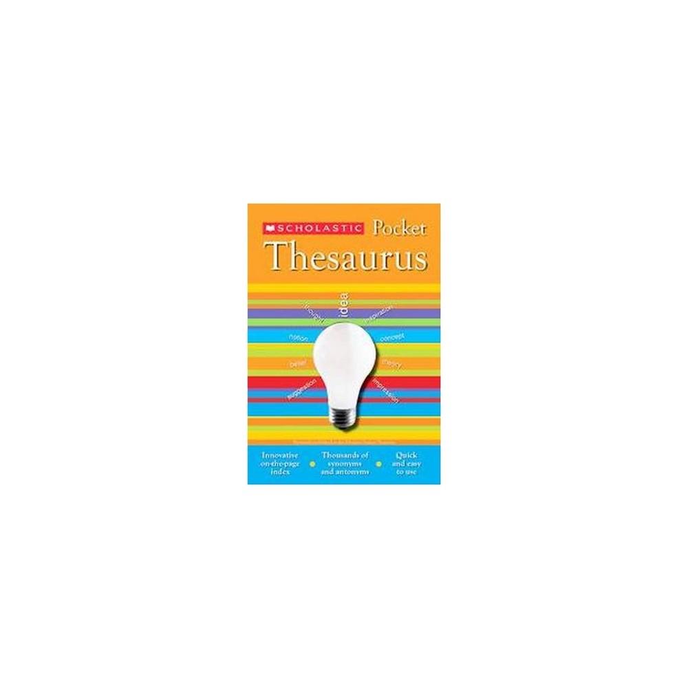 Scholastic Pocket Thesaurus (Paperback) (John Bollard)