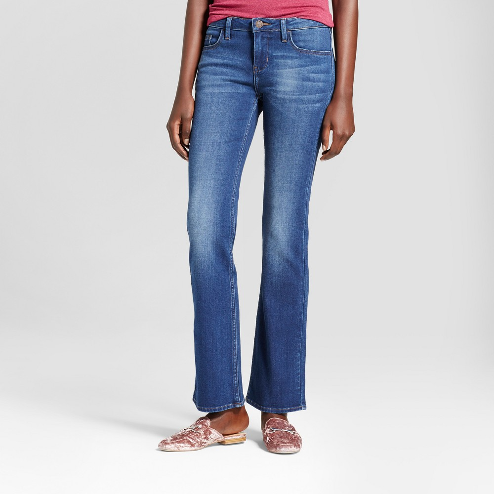 Women's Modern Fit Signature Bootcut Jeans - Crafted by Lee Medium Denim Wash 16 Short