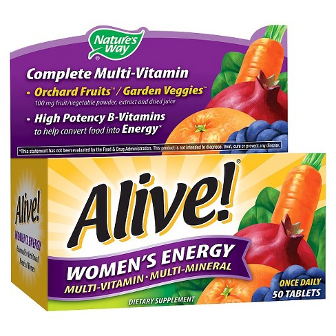 Nature's Way Alive! Women's Energy Multivitamin Tablets - 50ct - image 1 of 1