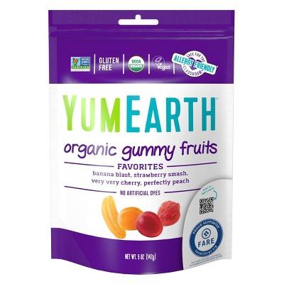 YumEarth Organic Gummy Fruits - 5oz