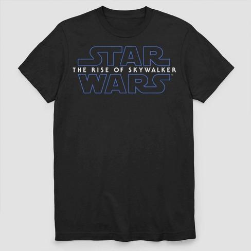 Men S Star Wars The Rise Of Skywalker Short Sleeve Graphic T Shirt Black Target