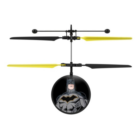 World Tech Toys DC Justice League Batman IR UFO Ball Helicopter - image 1 of 3