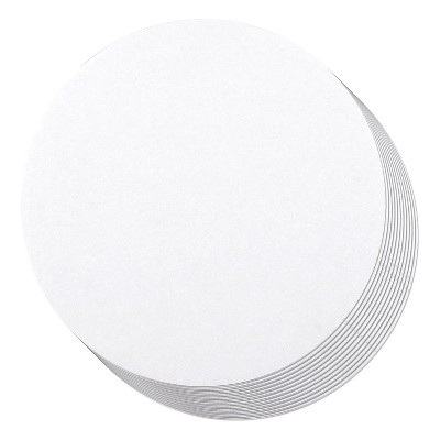 Juvale 12 Pack Round Cake Boards, Cardboard Cake Circle Bases (8 Inches, White)
