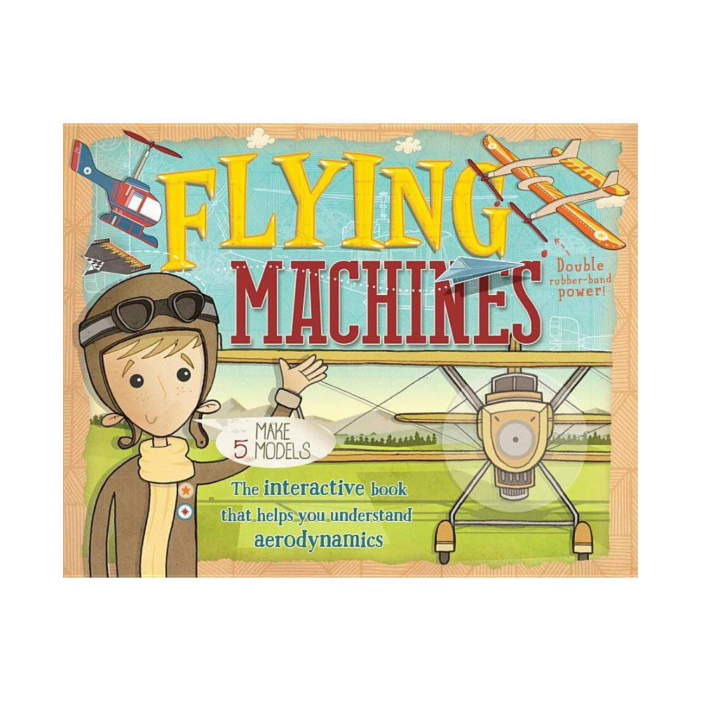 Flying Machines By Nick Arnold Mixed Media Product