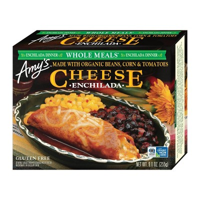 Amy's Frozen Cheese Enchilada Meal - 9oz