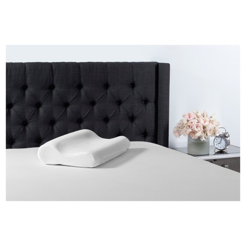 Contour Memory Foam Pillow Standard White - Beauty Rest - image 1 of 1
