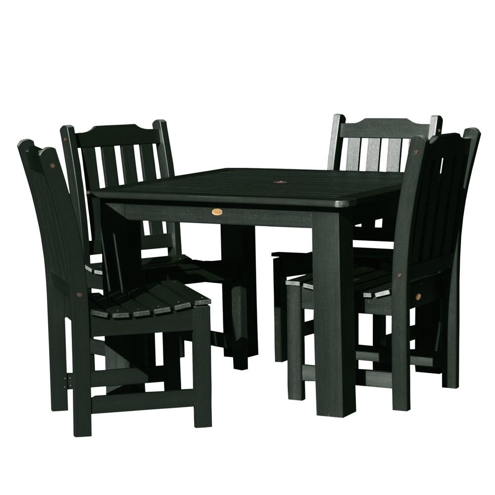 Lehigh 5pc Square Dining Set Charleston Green - Highwood