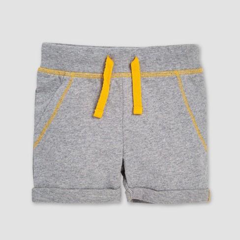 7e49b99c6 ... Distressed Stripe Organic Cotton T-Shirt & French Terry Shorts Set.  Shop all Burt's Bees Baby