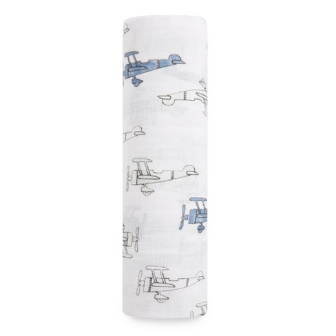 Aden® by Aden + Anais® Muslin Swaddle - Sky High - Light Gray - image 1 of 2