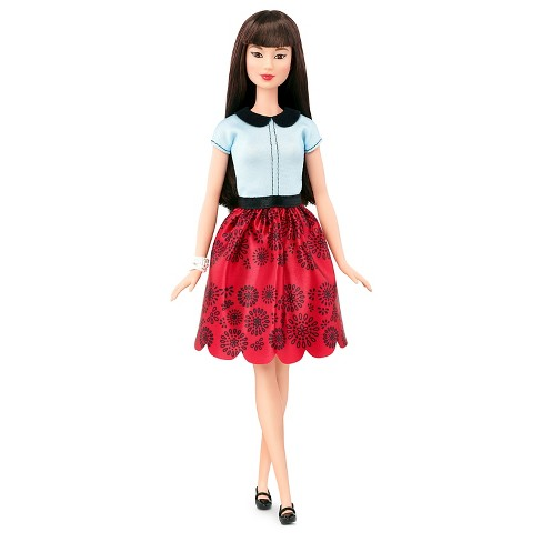 Barbie Fashionistas Doll 19 Ruby Red Floral - Original - image 1 of 10