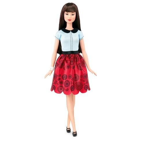 58d6ed2d6f Barbie Fashionistas Doll 19 Ruby Red Floral - Original   Target