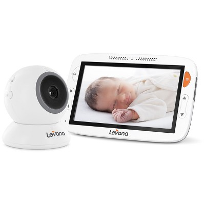 Levana Alexa™ 5  Video Baby Monitor with Temperature Monitoring