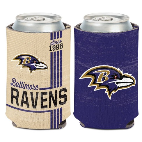 NFL Baltimore Ravens Retro Can Cooler - image 1 of 1