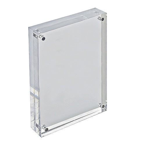 Azar 5 X 7 Verticalhorizontal Acrylic Block Frame Target