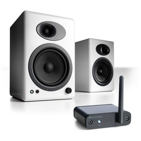 Audioengine A5+ Speaker System with B1 Bluetooth Music Receiver - image 1 of 3