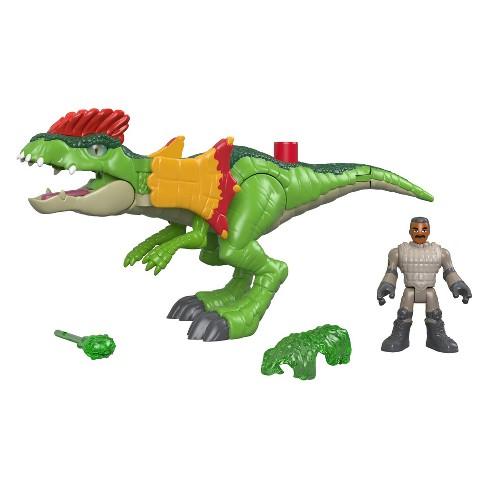 Fisher-Price Imaginext Jurassic World Dilophosaurus & Agent Set - image 1 of 4