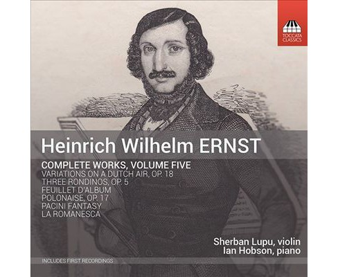 Sherban lupu - Ernst:Complete works vol 5 (CD) - image 1 of 1