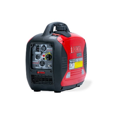 2000 Watt Ultra-Quiet Gasoline Powered Inverter Portable Generator With Parallel Capability - A-iPower